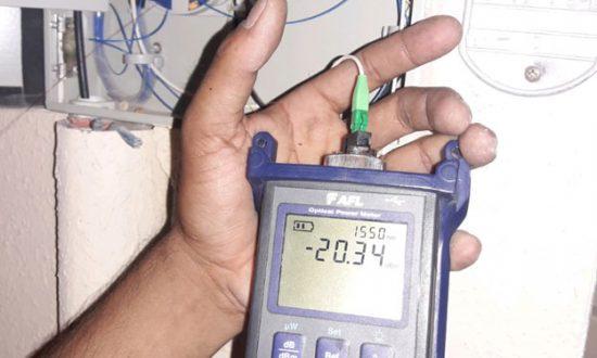 Power meter reading