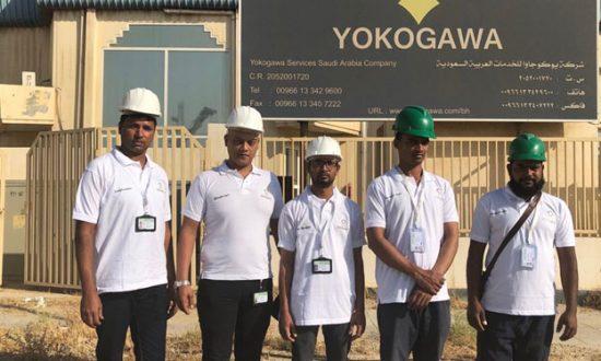 فريق شركة خدمة قنوات الدولية للخدمات الالكترونية ICCES في العمل
